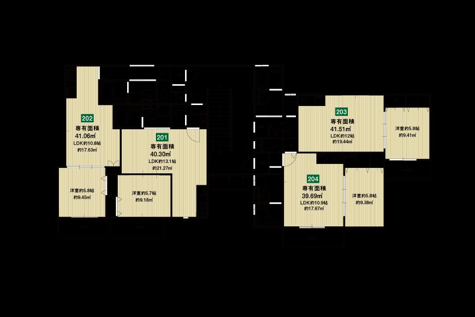 大東市赤井2丁目収益新築マンション2F