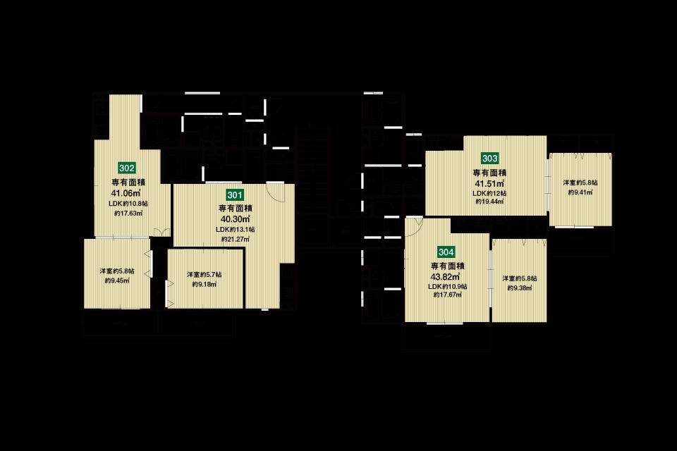 大東市赤井2丁目収益新築マンション3F