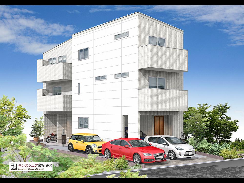 鶴見区放出東2丁目にハウジングギャラリーの新築一戸建て堂々分譲1