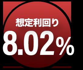 想定利回り7.791%