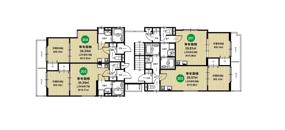 淀川区田川北2丁目収益新築マンション2F