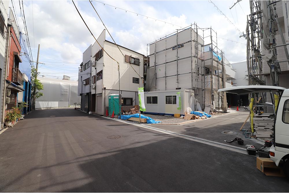 淀川区北田辺2丁目にハウジングギャラリーの新築一戸建て堂々分譲2