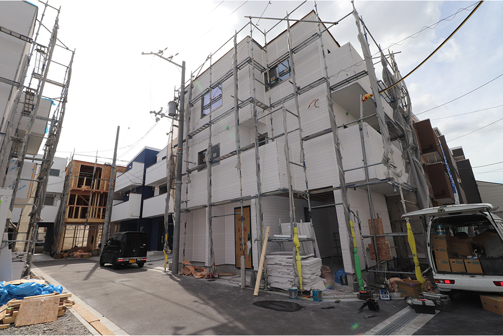 淀川区北田辺2丁目にハウジングギャラリーの新築一戸建て堂々分譲3